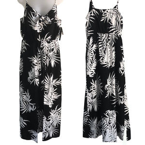 NWT As U Wish Maxi dress/romper B/W Large